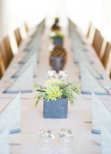 Detail Aufnahme - Tisch im Restaurant