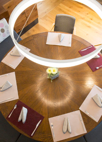 Tisch - Ansicht von oben